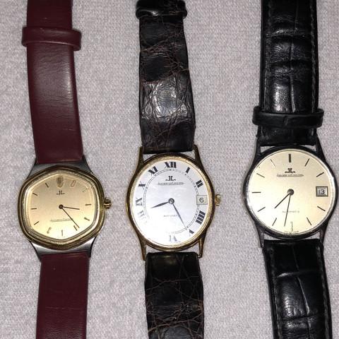3 Uhren mit Armband  - (Uhr, Armbanduhr)