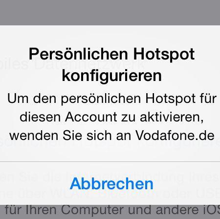 Hotspot - (iPhone, hotspot)