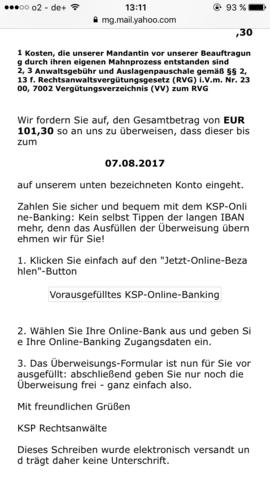 Ich habe vor nur meine minus Betrag von meinem paypal Konto sofort zu bezahlen - (PayPal, Anwälten )
