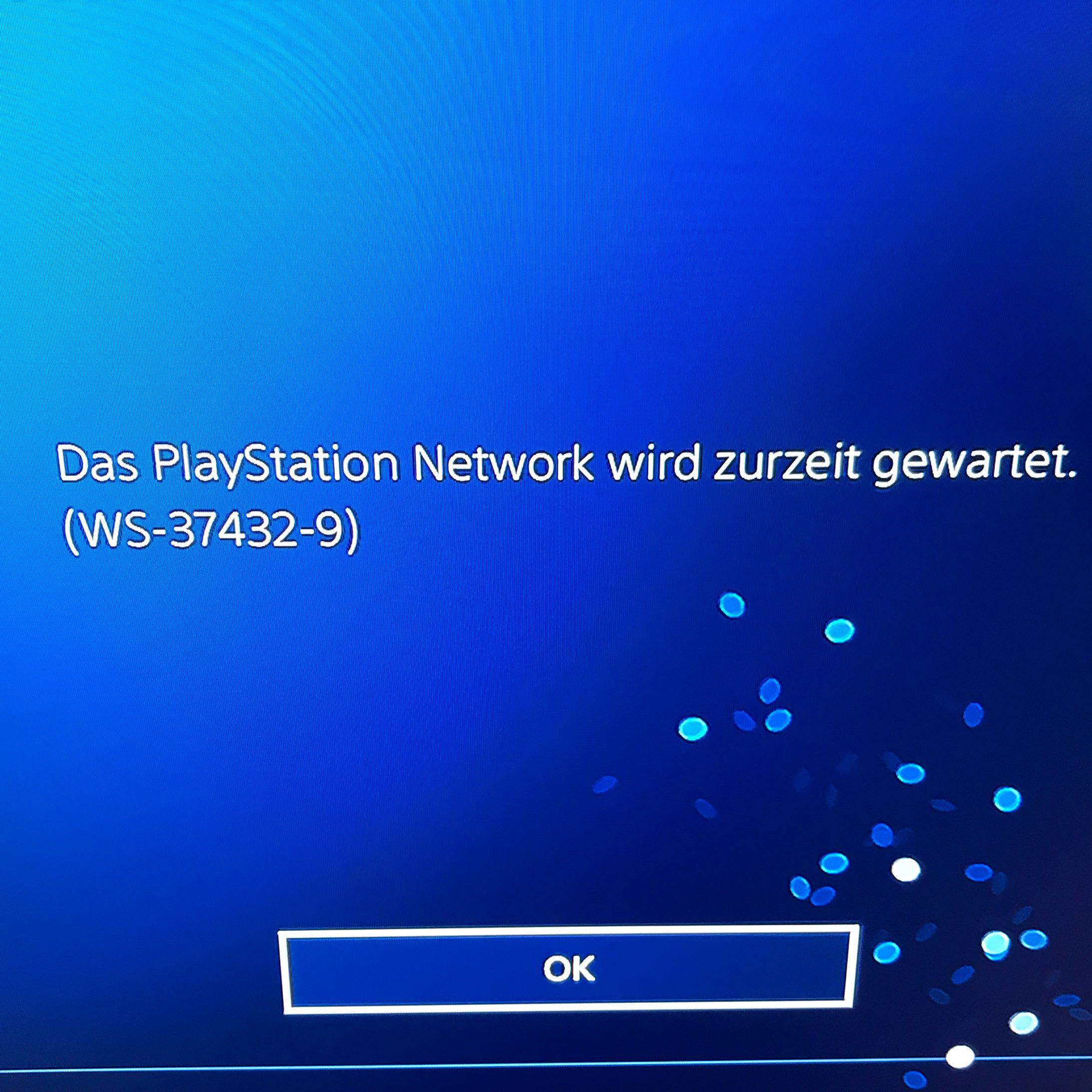Playstation Network Wird Derzeit Gewartet