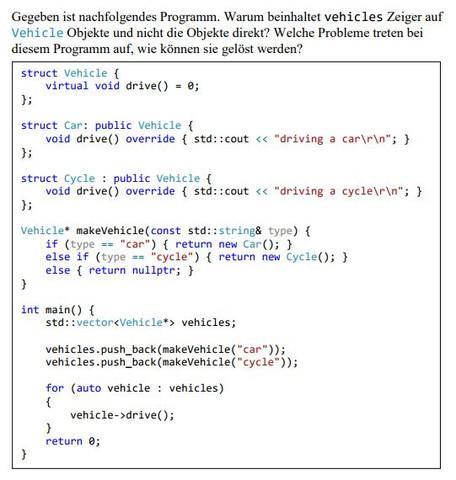 Aufgabenstellung - (programmieren, Programmierung, C-plus-plus)