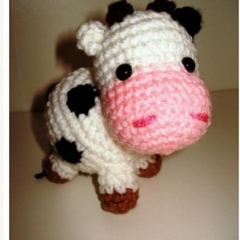 Hallo Ich Suche Eine Häkelanleitung Für Eine Kuh Häkeln Amigurumi