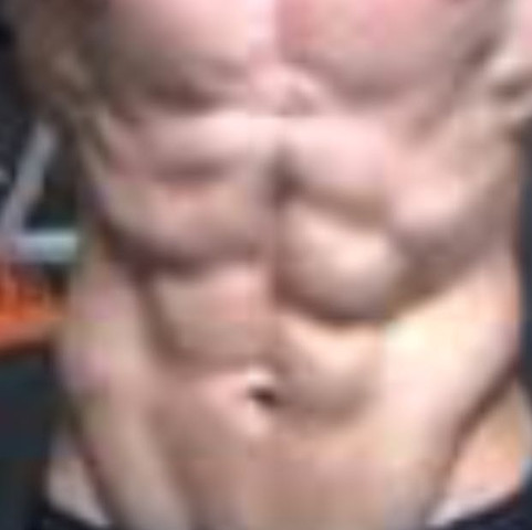 Da ist ein Bild von meinem Bauch - (six-pack, Bauchmuskulatur)
