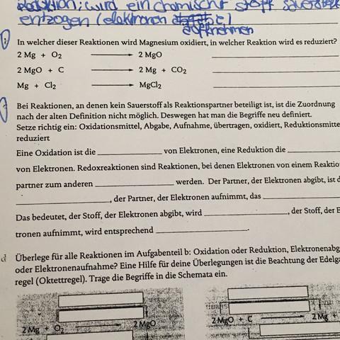 Nummer2  - (Chemie, Gymnasium, Klasse8)