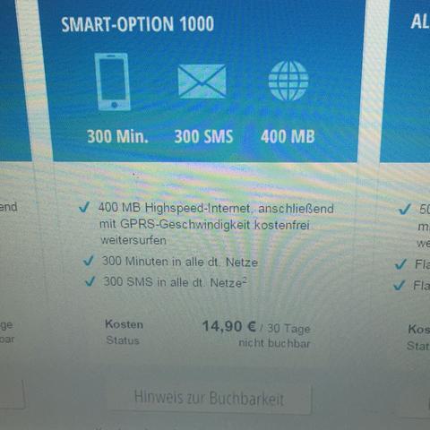 Diese option  - (Handy, blau, Flat)
