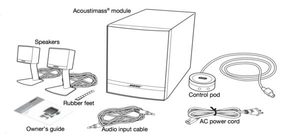 Bose Lautsprecher - (audio, Verbindung, DJ)