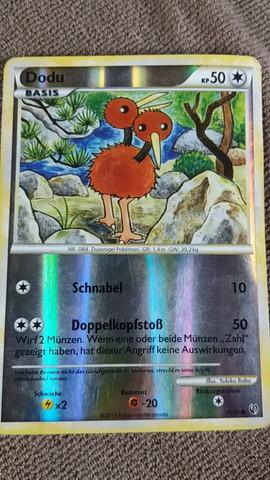 Dodu Basis, Holo, aus dem Jahr 2010 45/100 Kreis - (Pokemon, sammeln)