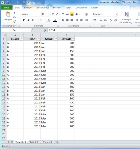 Excel-Issue - (Excel, Querverweis)