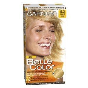 Schwarze haare goldblond farben