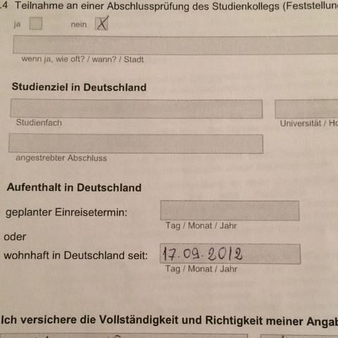 Zusallung - (Zulassung, Formular)