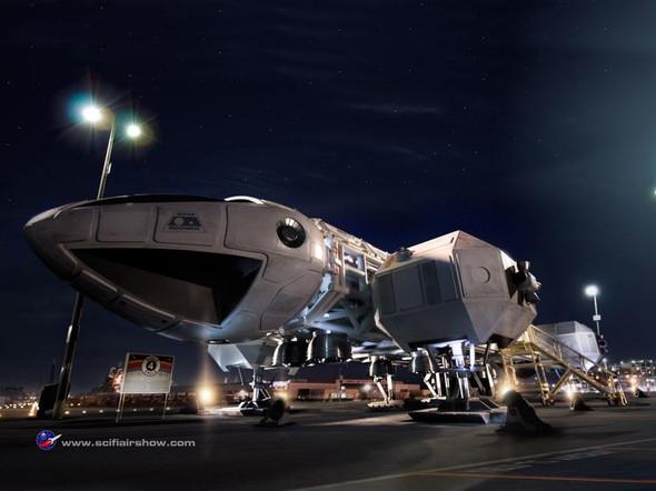 Moonbase Alpha Eagle - (Ausland, Modellbau, Raumschiff)