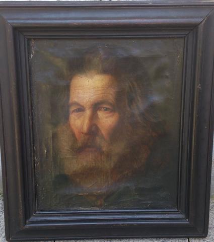 Ölbild auf Leinwand - (Kunst, Malerei, Gemälde)