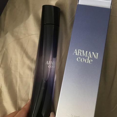 Armani code  - (Erfahrungen, Parfüm, Fake)