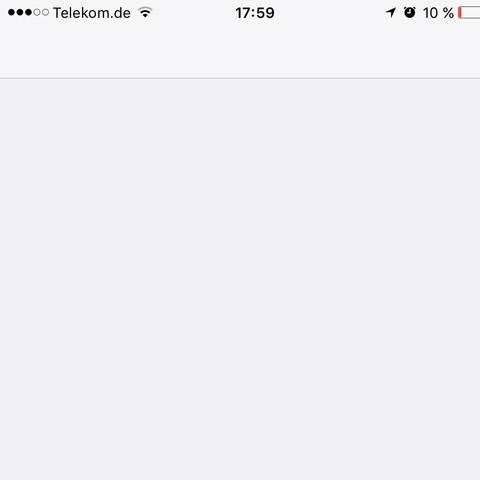 Wenn ich es öffne - (iPhone, Apple, ios)