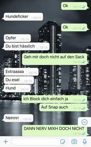 Ex-Freundin betrügt neuen Bf