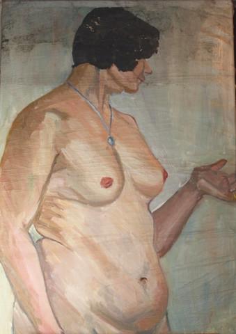 Akt porträt 1920 - (Kunst, Künstler)