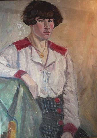 Damen porträt 1920 - (Kunst, Künstler)
