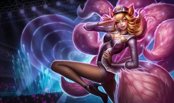 Popstar Ahri Splash Art - (League of Legends, Cosplay, tutorials)
