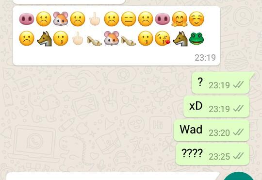 ?? - (WhatsApp, Chat)
