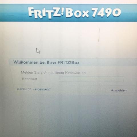 Bild dient  - (Internet, Code, Fritz Box)