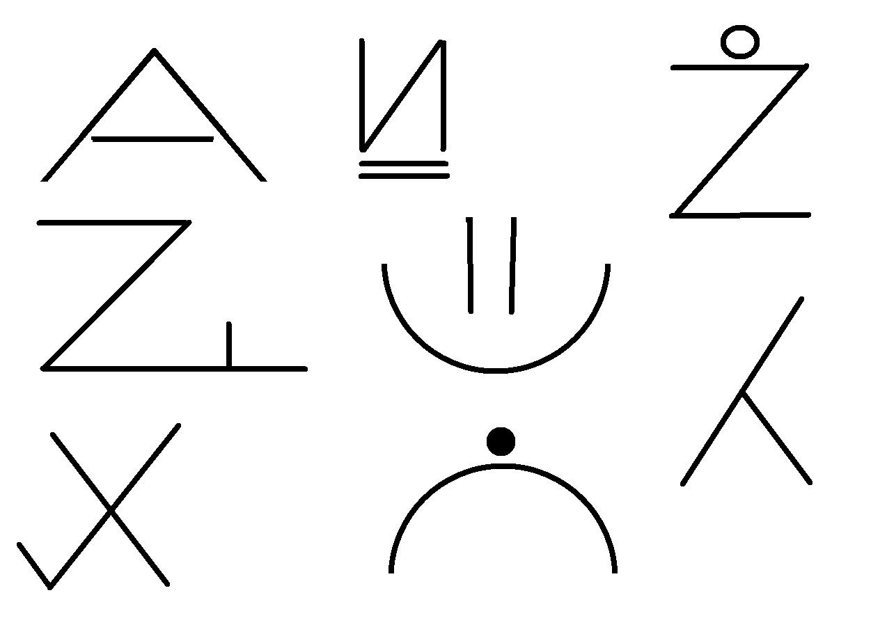 hallo wei jemand was diese symbole bedeuten sollen alle aus einem themengebiet stammen. Black Bedroom Furniture Sets. Home Design Ideas