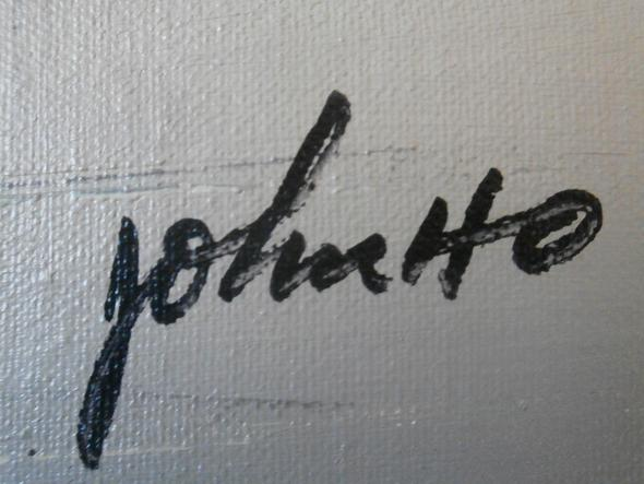 Signatur - (Künstler, Signatur, Ölgemälde)