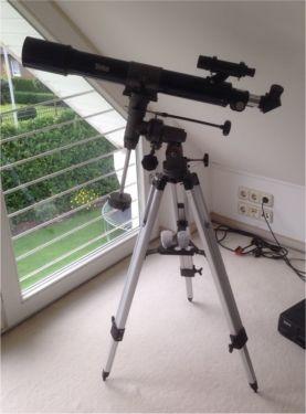 hallo wer kennt sich mit Teleskop aus wollte mir diesen hier kaufen für Sterne Mond und sonne Skylux Teleskop F=700, D=70 hat jemand den selben vielleicht?