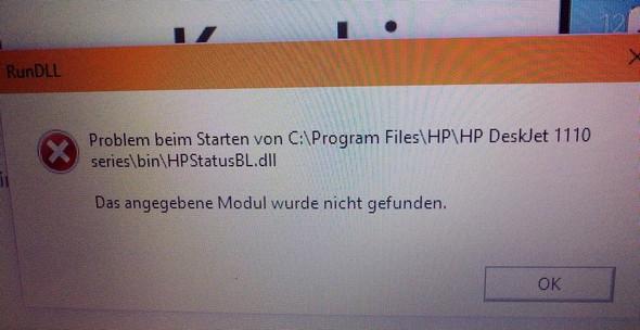 Drucker Fehlermeldung - (Drucker, Meldung)