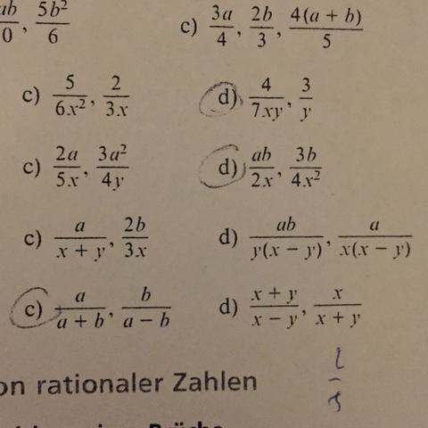 Hier das Foto - (Mathematik, Bruch)