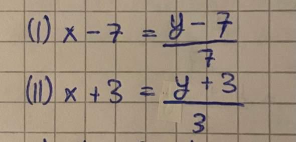 Hallo, wie kann man diese Gleichung mit Additionsverfahren lösen?