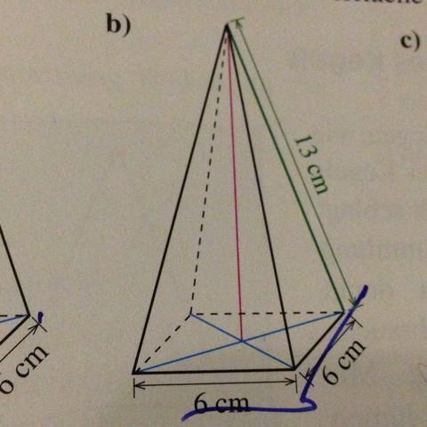 Volumen Berechnung, Pyramide - (Mathe, Volumen Pyramide)