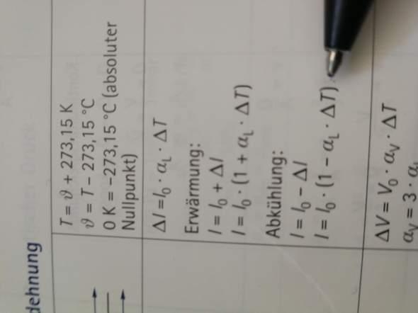 Hallo wie Stelle ich die Formel auf ∆T um? Bitte nicht nur das Ergebnis?