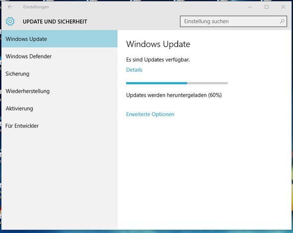 Update hängt - (Windows 10, Update, hängt)