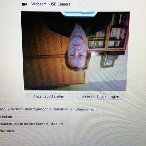 Skype Bild verkehrt  - (Windows 10, Asus)