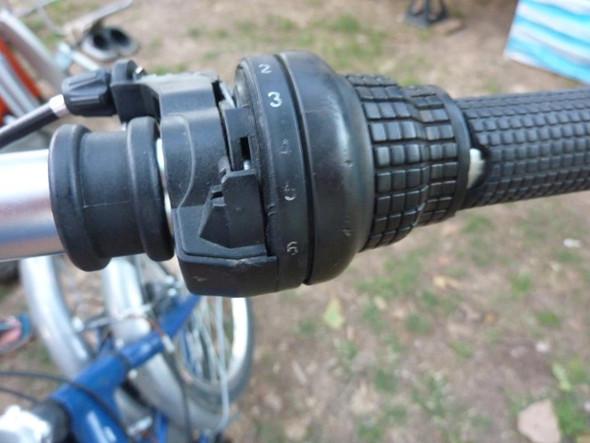 Schaltgriff wird auch ersetzt - (Fahrradkette, Klapprad, 6Gang Shimano Tourney)