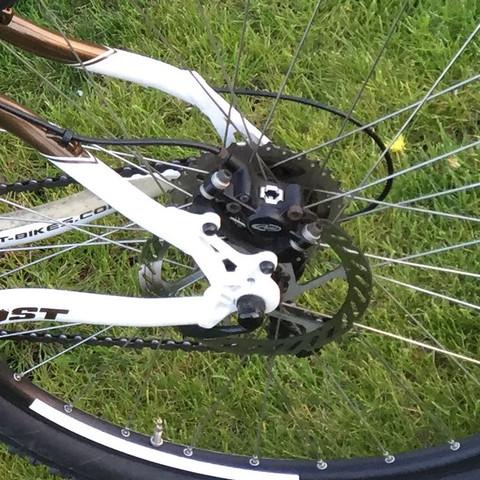 Diese scheibenbremse quietscht  - (Fahrrad, quietschen, scheibenbremse)