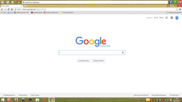 Unerwünschte Leiste am Desktop - (Desktop, Suchleiste)