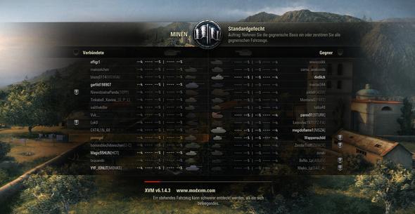 Kann man wenigstens einstellen, dass ich nur Klasse,Name und Panzernamen sehe? - (Spiele, Onlinespiele, world-of-tanks)