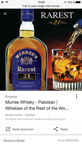 Pakistanischer Single Malt - (Alkohol, Food, whisky)
