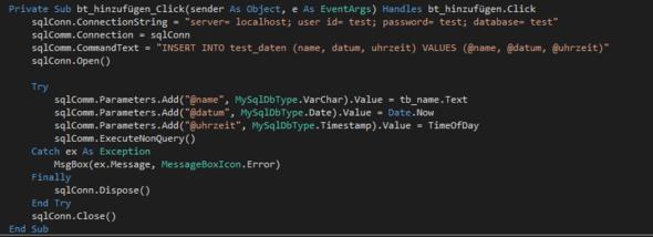 Mein Programmcode - (programmieren, Programmierung, PHP)