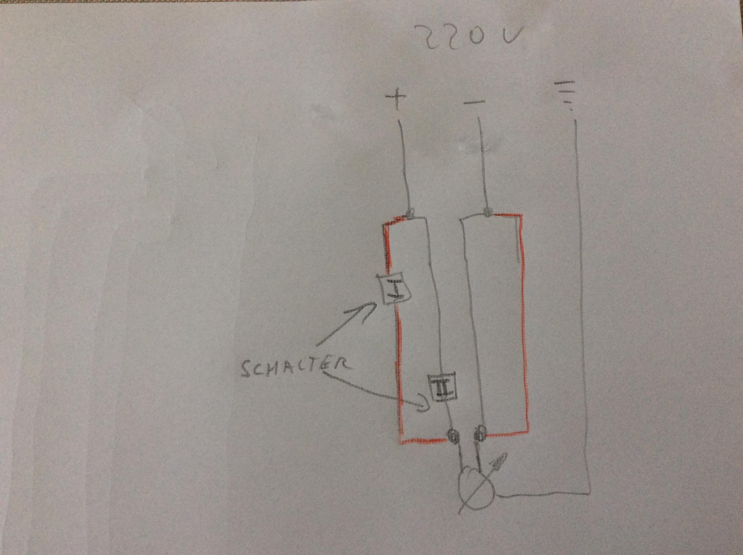 kann man eine elektrische pumpe von zwei verschiedenen stellen einschalten technik elektronik. Black Bedroom Furniture Sets. Home Design Ideas