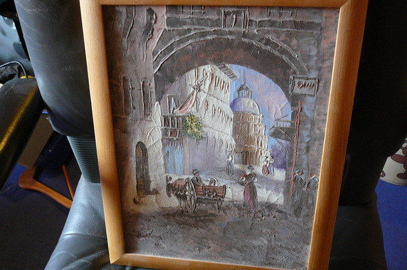 Armstrong 2 - (Künstler, Maler, Gemälde)