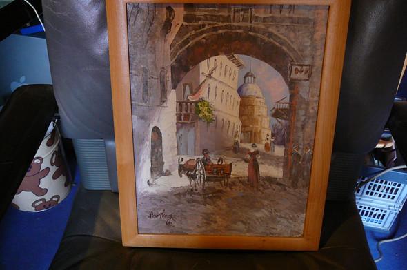 Armstrong 4 - (Künstler, Maler, Gemälde)