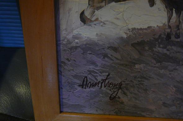 Armstrong 5 - (Künstler, Maler, Gemälde)