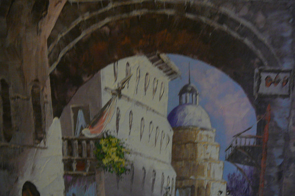 Armstrong 6 - (Künstler, Maler, Gemälde)
