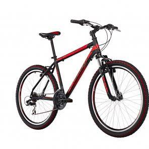 SERIOUS ROCKVILLE BLACK/red - (Fahrrad, Mountainbike, MTB)