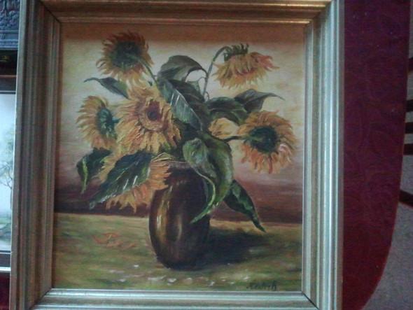 sonnenblumen - (Kunst, Malerei, Gemälde)