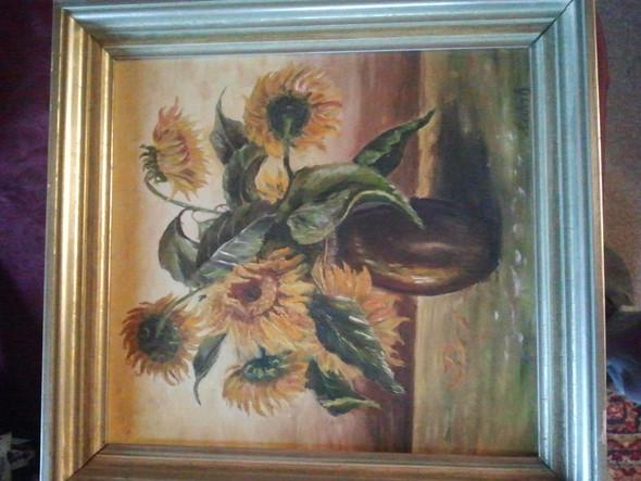 sonnenblummen - (Kunst, Malerei, Gemälde)
