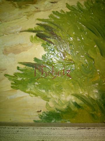- (Künstler, Maler, Ölgemälde)