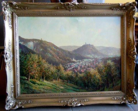 Landschaftsgemälde_1 - (Freizeit, Sprache, Kunst und Kultur)